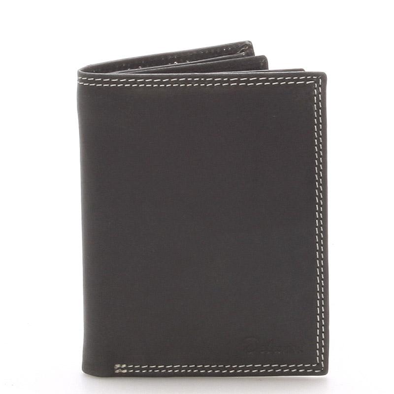 Pánska kožená peňaženka čierna - Delami Tui
