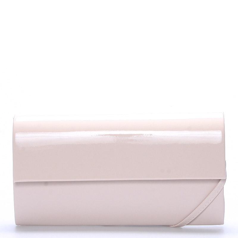 Veľká dámska listová kabelka púdrová matná - Delami Dallas