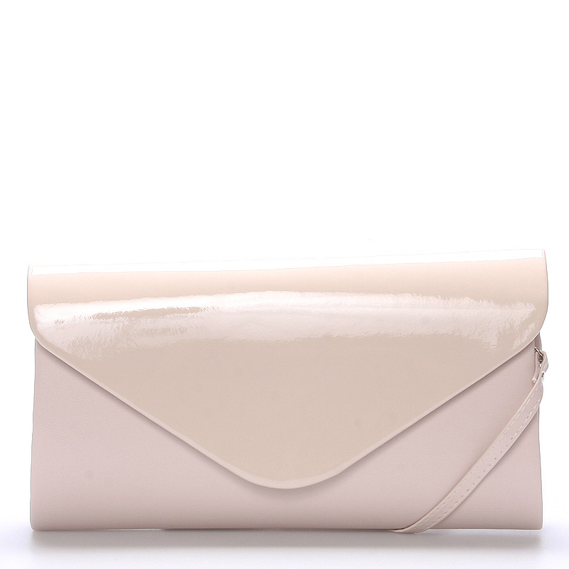Luxusná veľká dámska listová kabelka púdrová matná - Delami LasVegas
