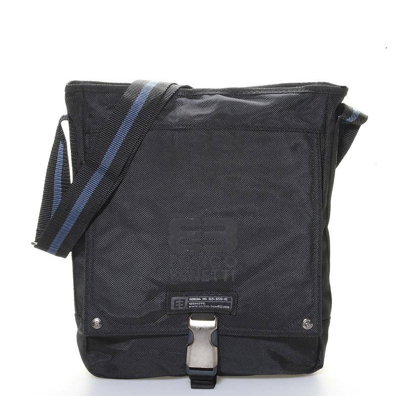 Čierna taška cez rameno Enrico Benetti 4475