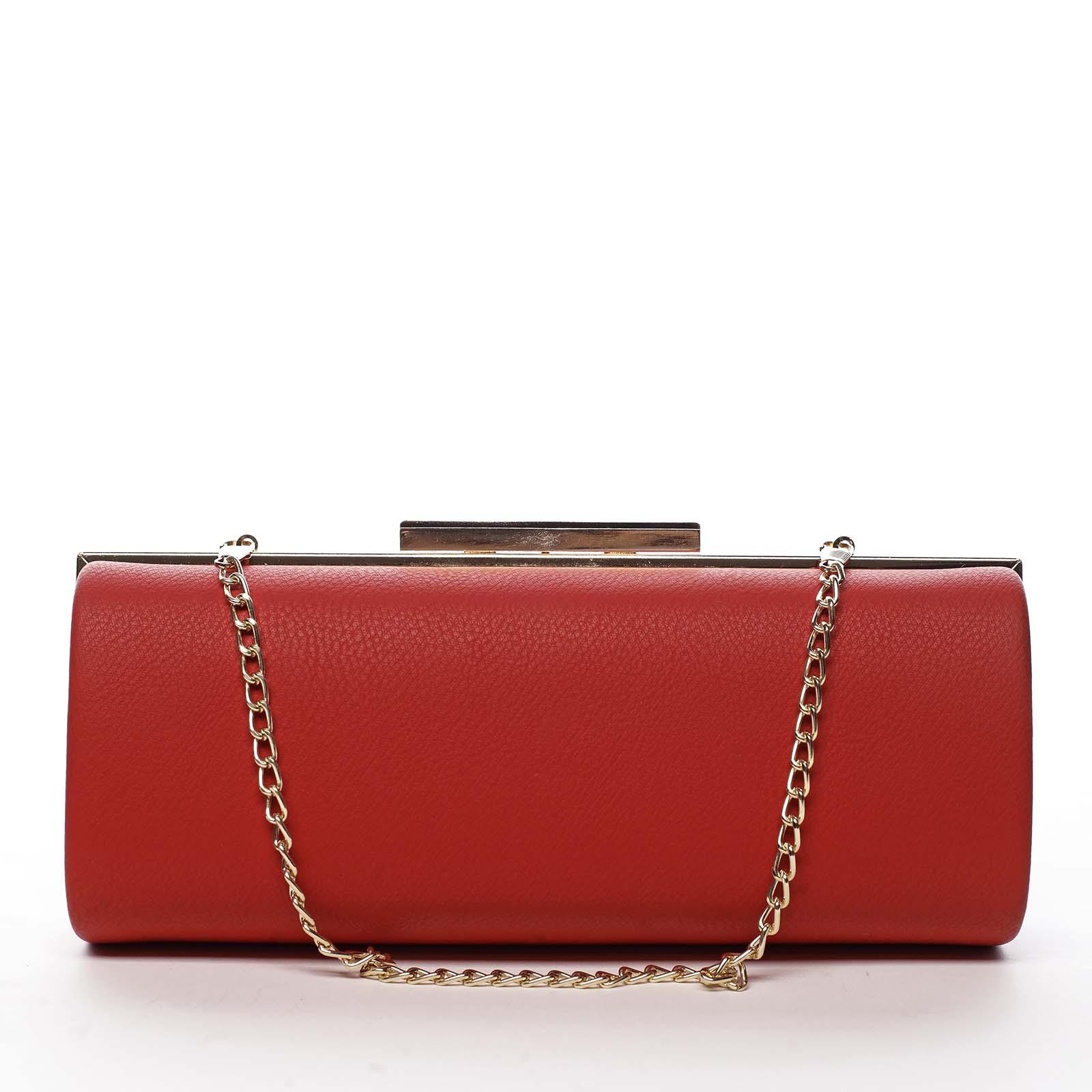 Dámska listová kabelka červená - Michelle Moon Syntha