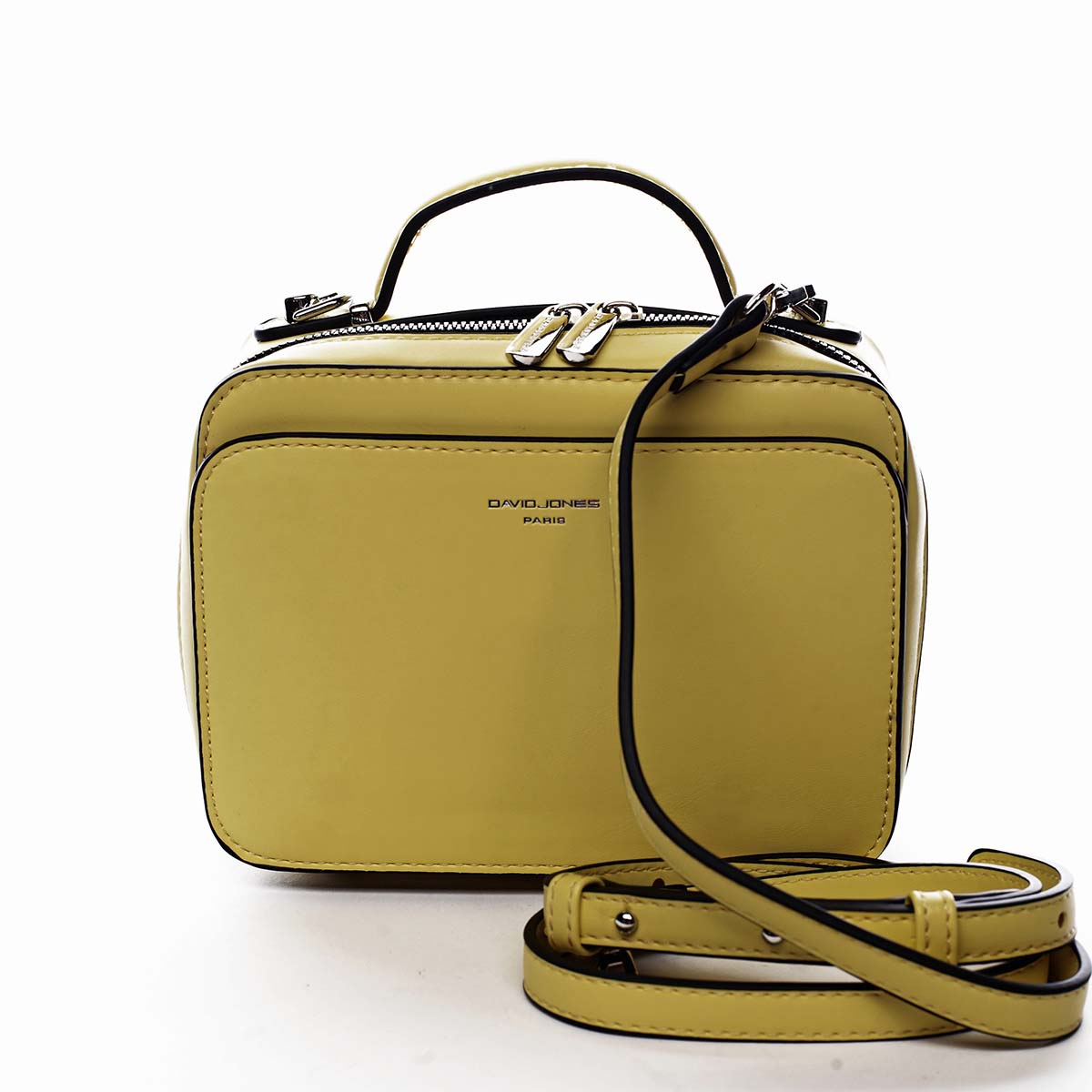 Dámska kabelka žltá - David Jones Zara