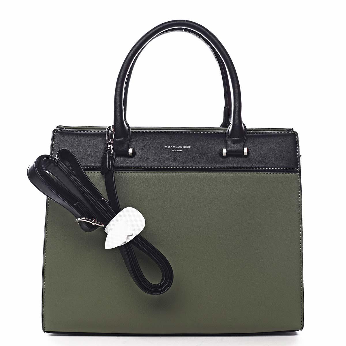 Dámska kabelka do ruky zelená - David Jones Tenerwa