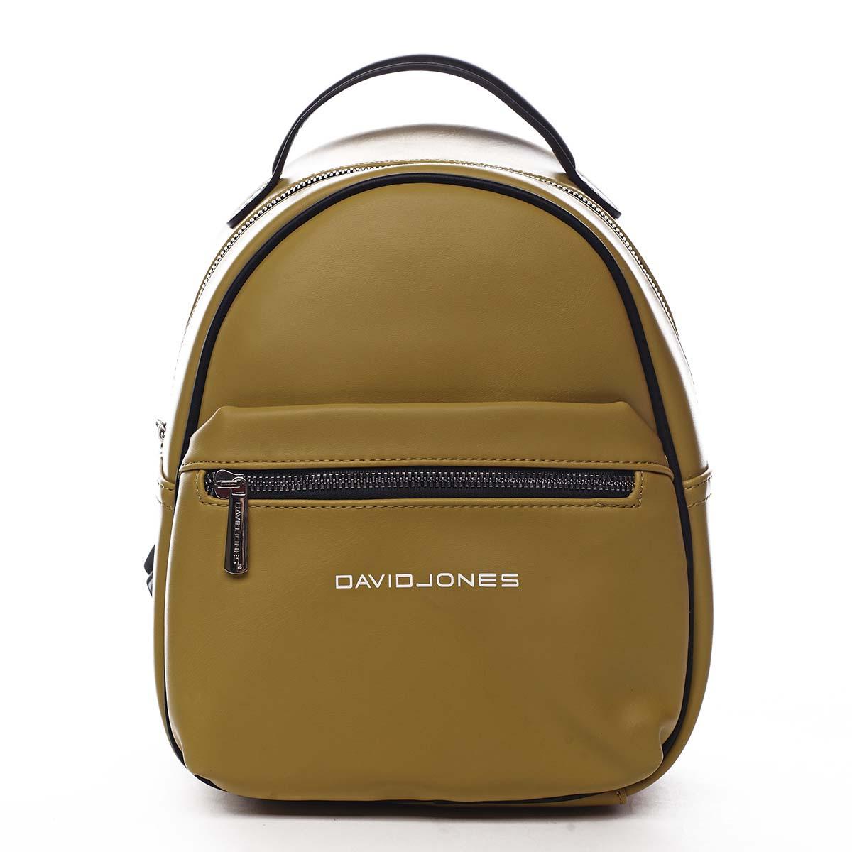 Dámsky mestský batoh žltý - David Jones Sennyel