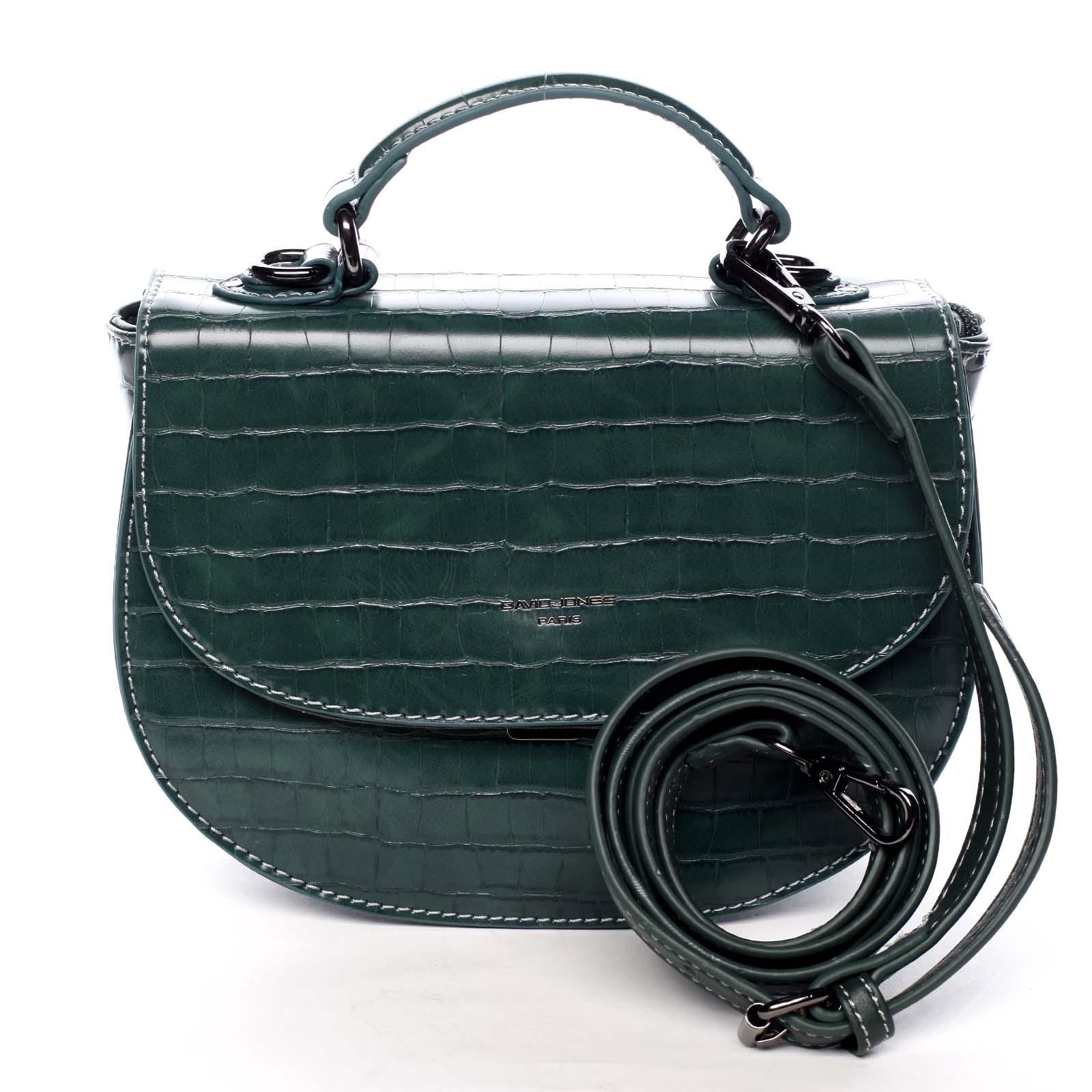 Dámska kabelka do ruky zelená - David Jones Cosette