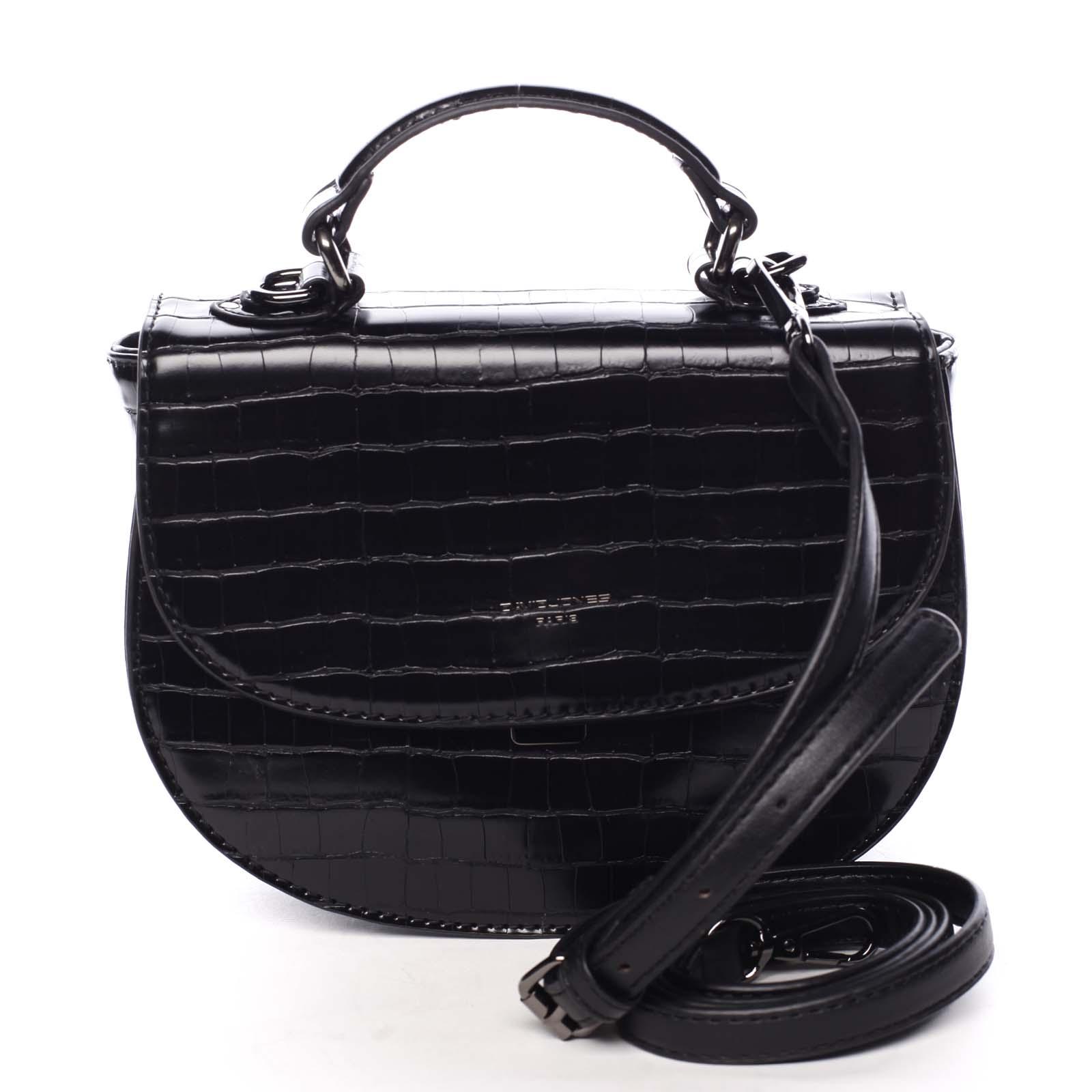 Dámska kabelka do ruky čierna - David Jones Cosette