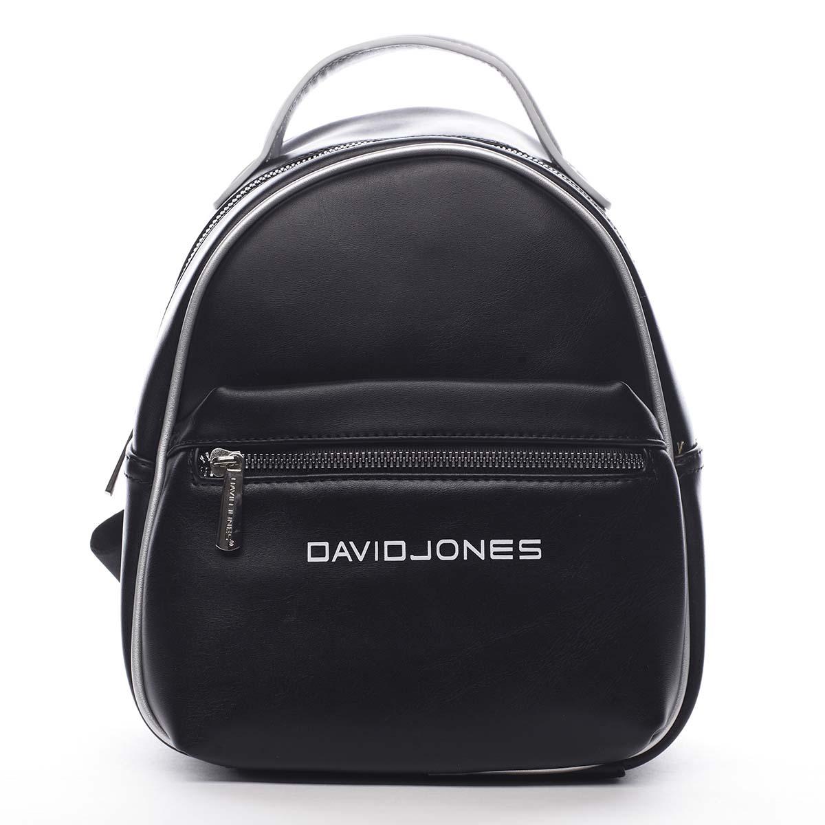 Dámsky mestský batoh čierny - David Jones Sennyel