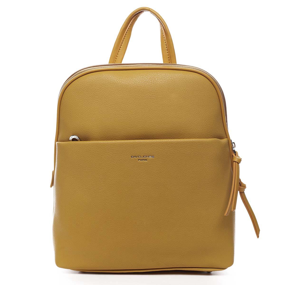 Dámsky mestský batoh žltý - David Jones Eliah