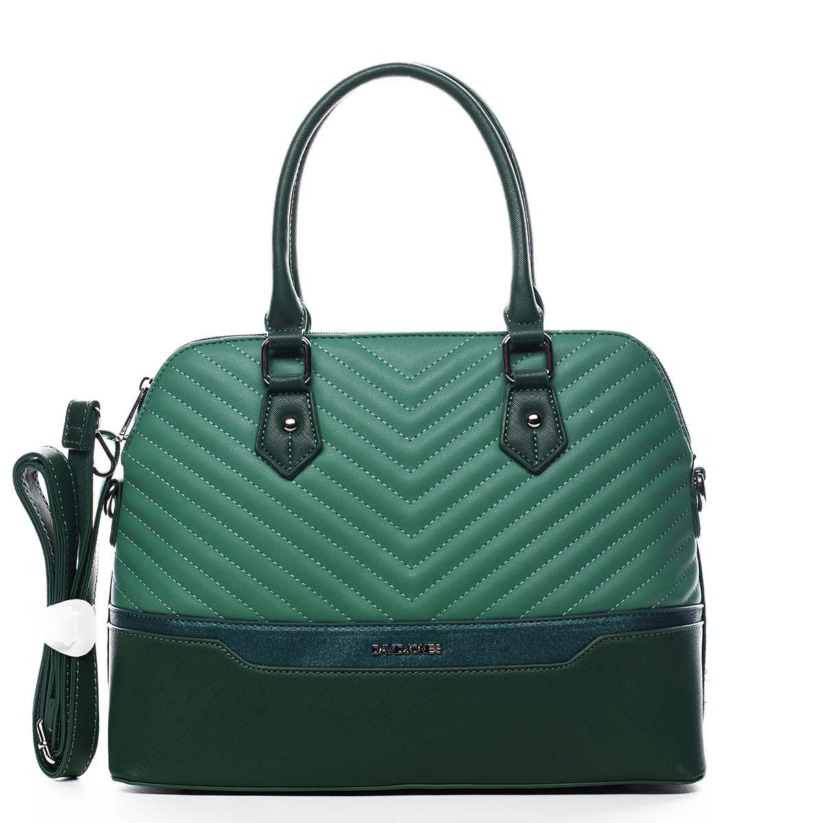 Dámska kabelka do ruky zelená - David Jones Roshel