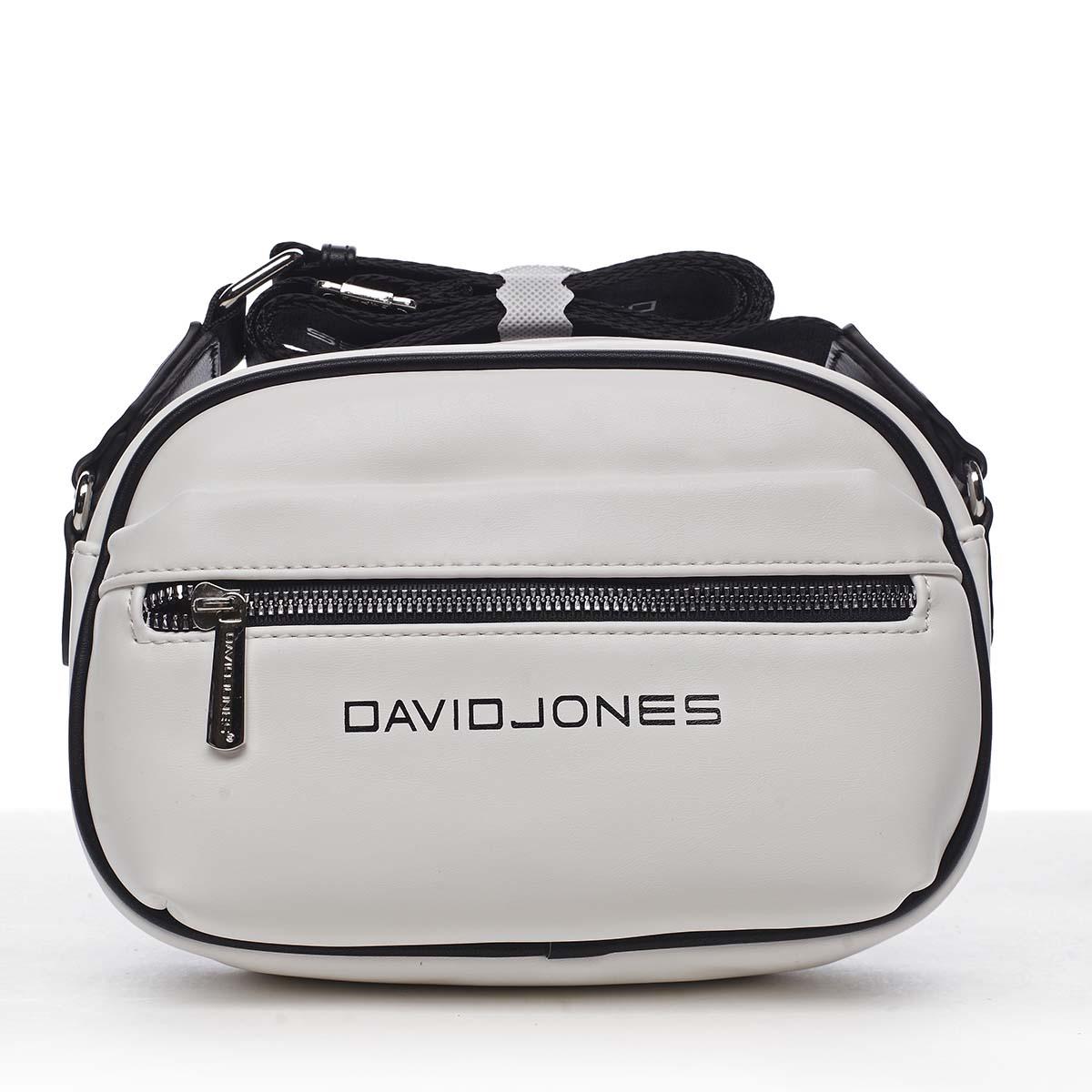 Dámska crossbody kabelka biela - David Jones Jolanis