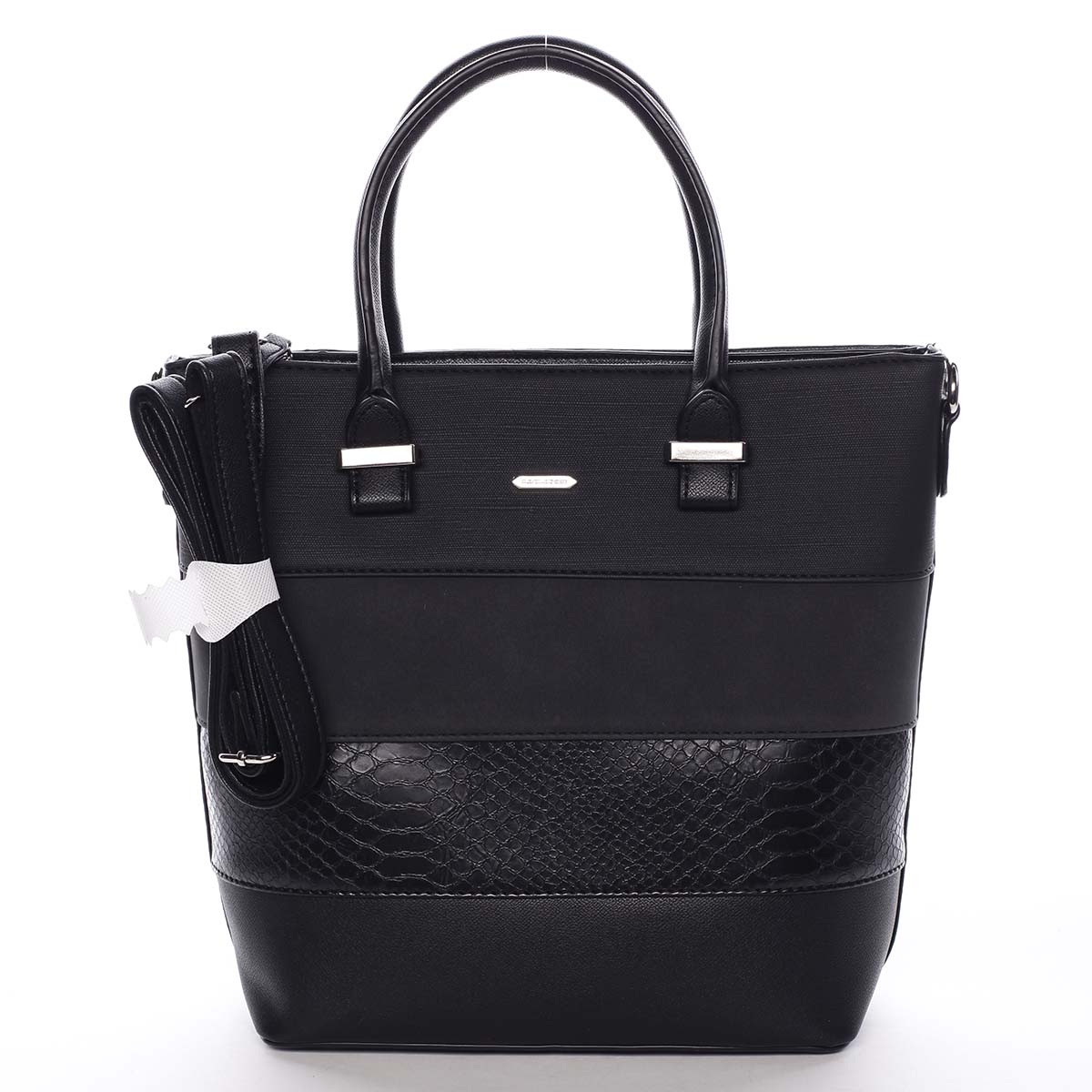 Dámska kabelka čierna - David Jones Geeta