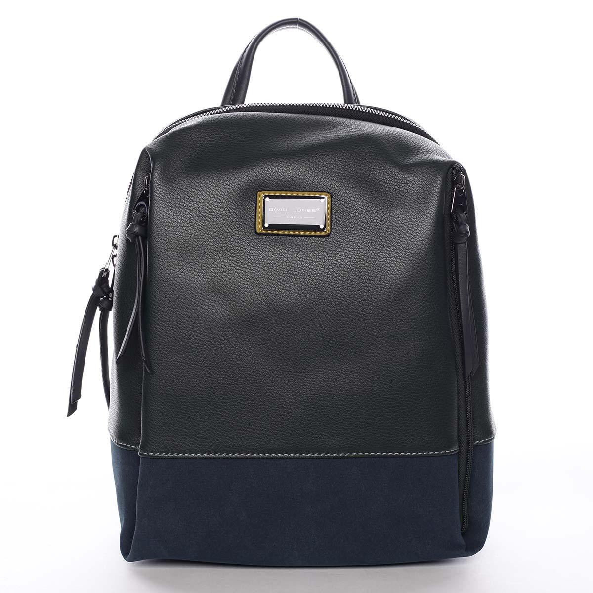 Dámsky batoh tmavozelený - David Jones Nova