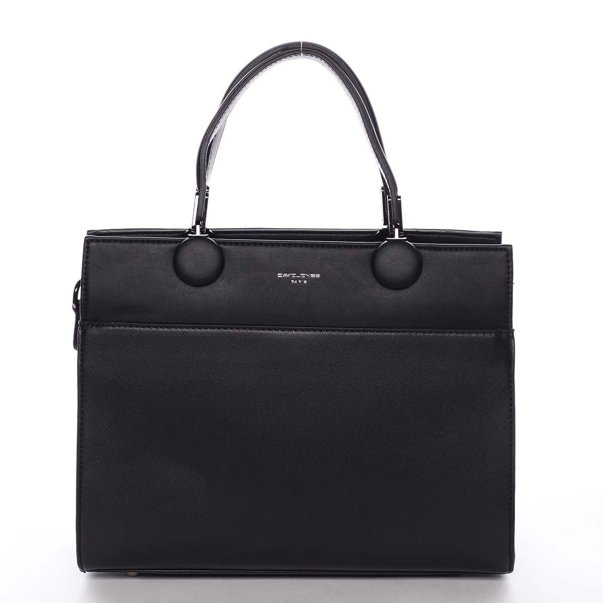 Dámska kabelka do ruky čierna - David Jones Edma
