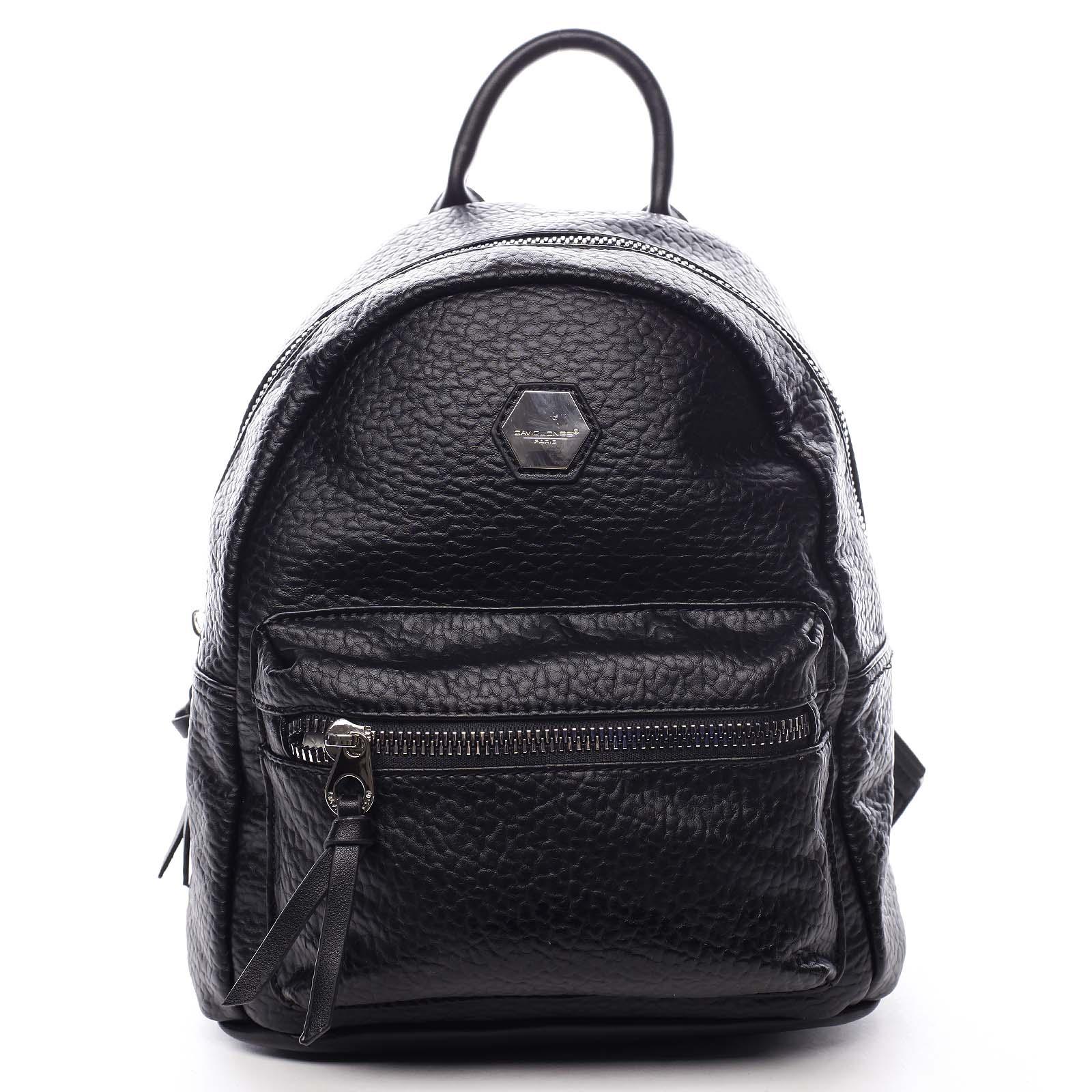 Dámsky mestský batoh čierny - David Jones Mackenzie