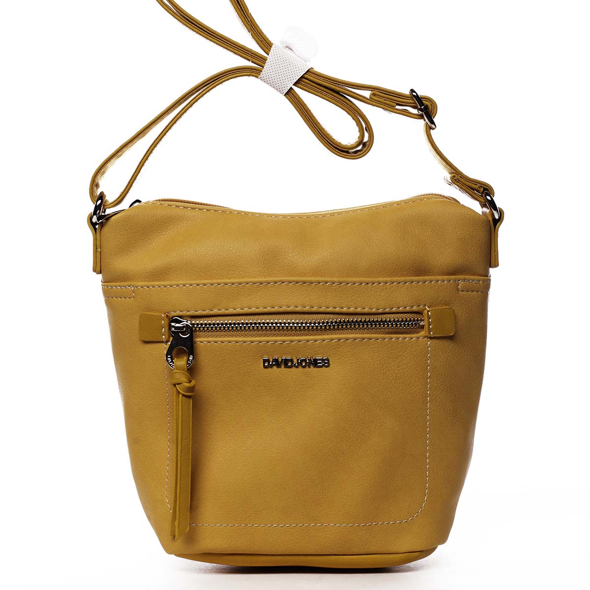 Dámska crossbody kabelka žltá - David Jones Iayne