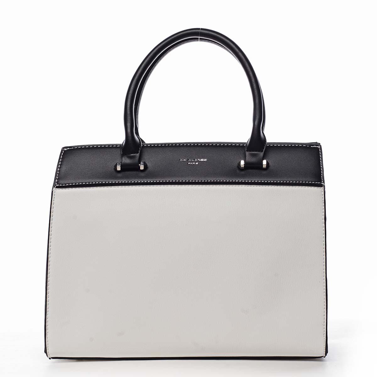 Dámska kabelka do ruky biela - David Jones Tenerwa