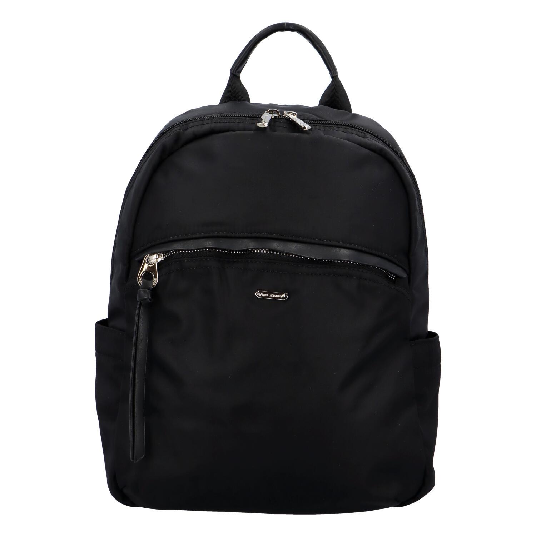 Dámsky štýlový batoh čierny - David Jones Rashid