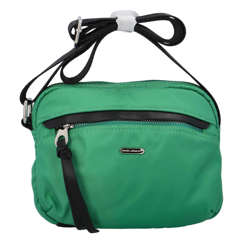 Malá dámska crossbody kabelky zelená - David Jones Júlia