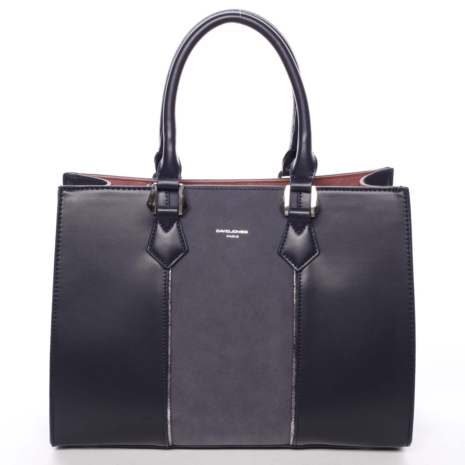 Elegantná dámska tmavomodrá kabelka do ruky - David Jones Zeruiah
