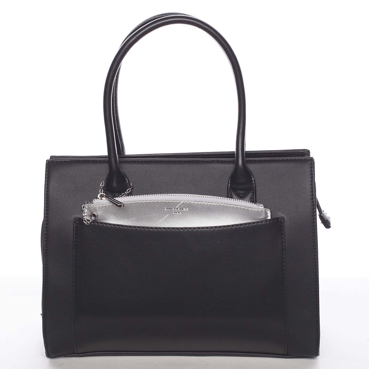 Exkluzívna čierna dámska kabelka - David Jones Hillary