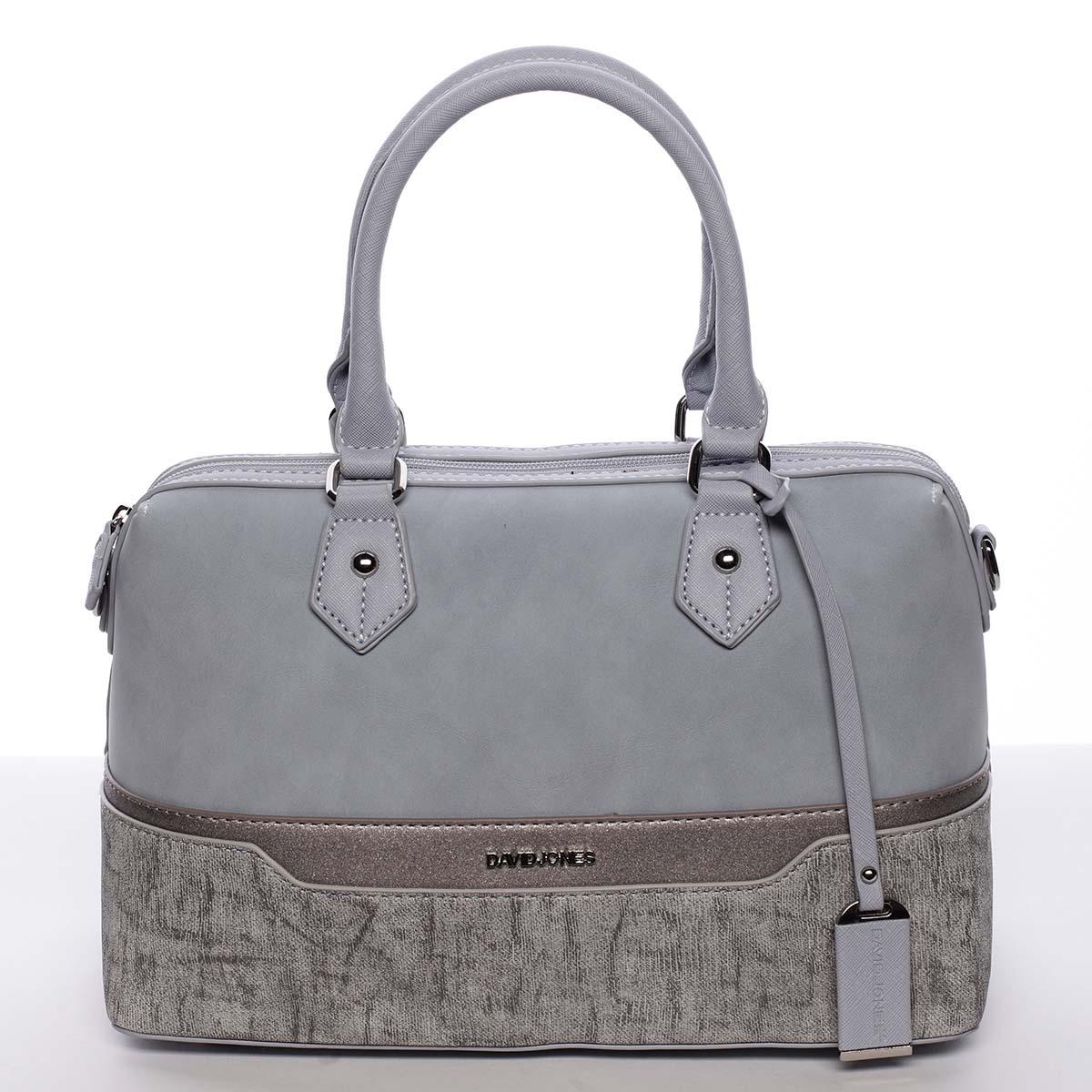 Elegantná a módna svetlomodrá dámska kabelka do ruky - David Jones Lizz