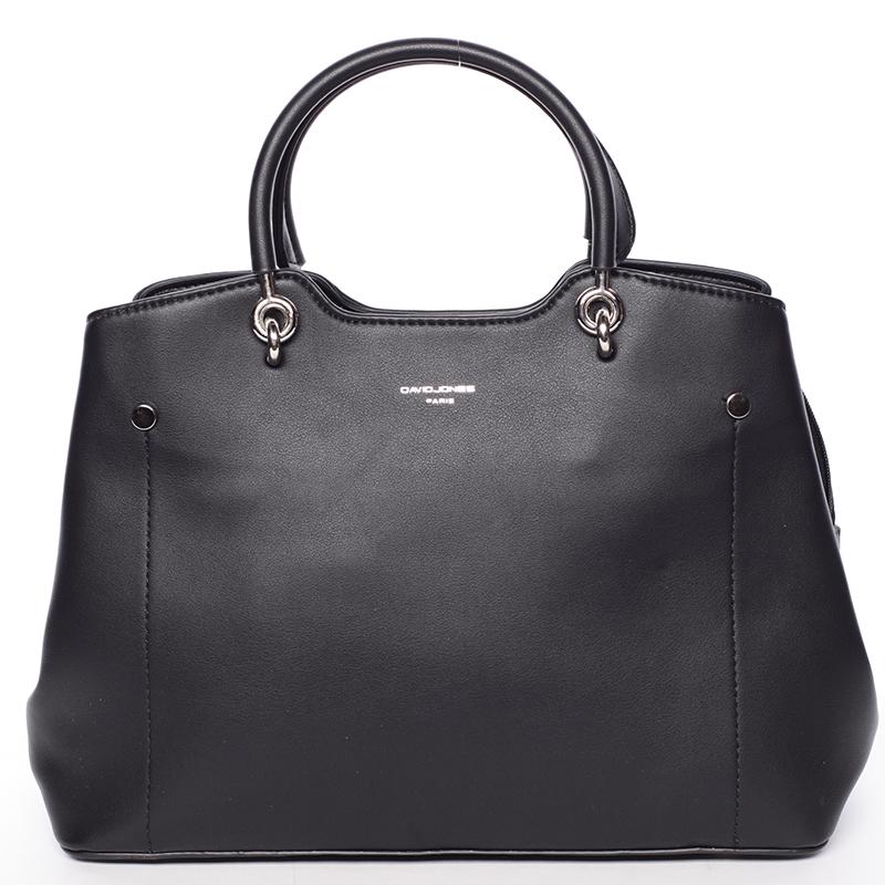 bca925a7bd83 Trendy elegantná čierna dámska kabelka - David Jones Stefania - Kabea.cz