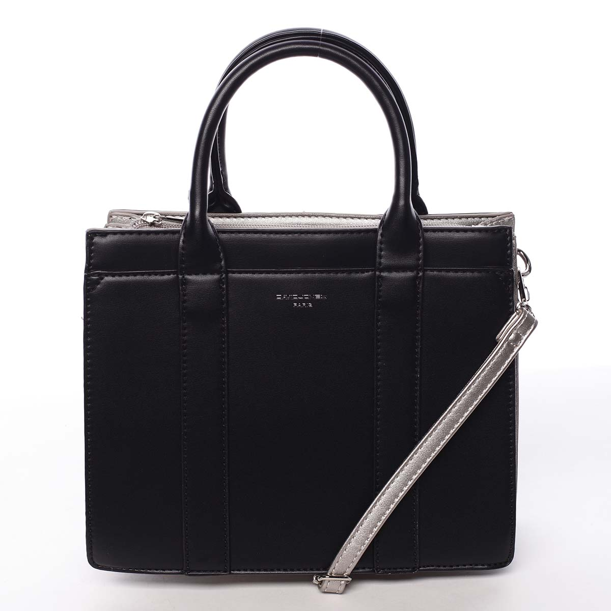 Malá dámska kabelka do ruky čierna - David Jones Akiba