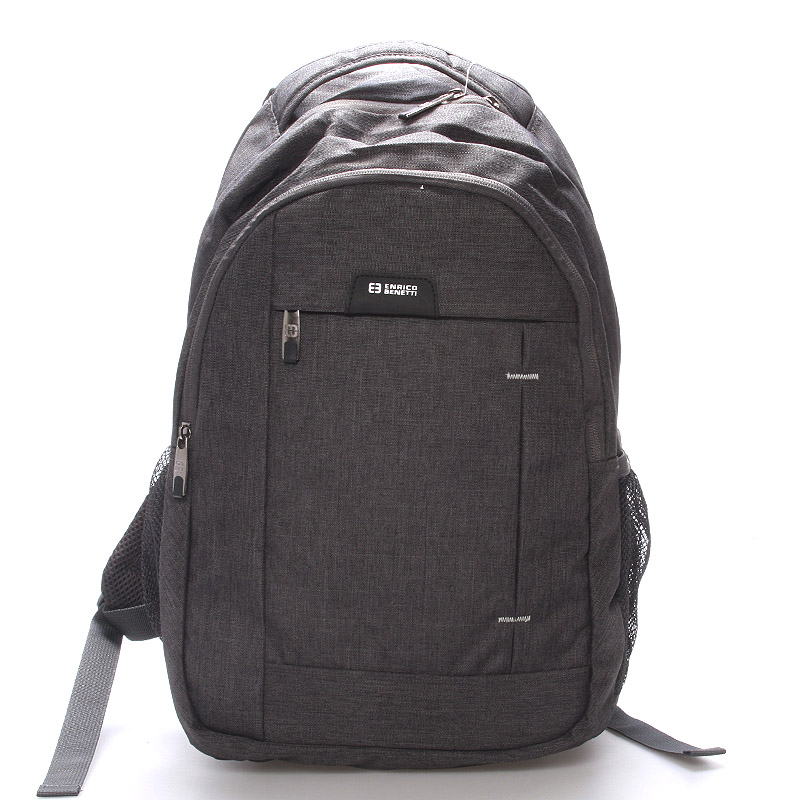 Moderný sivý batoh do školy - Enrico Benetti Acheron