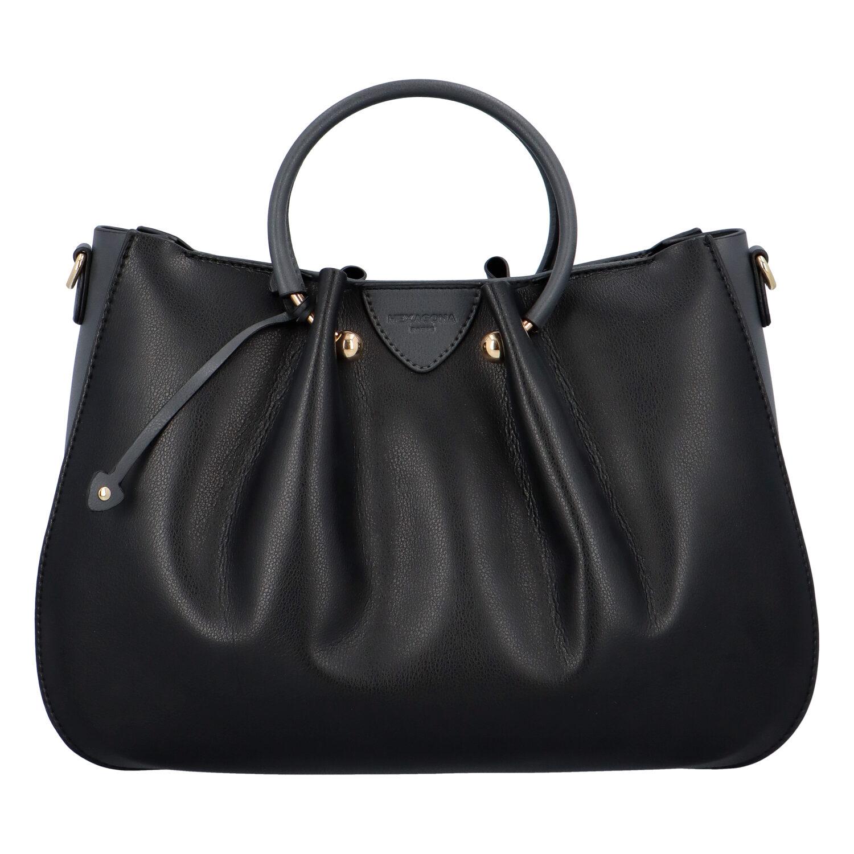 Dámska kabelka do ruky čierno šedá - Hexagona Javida