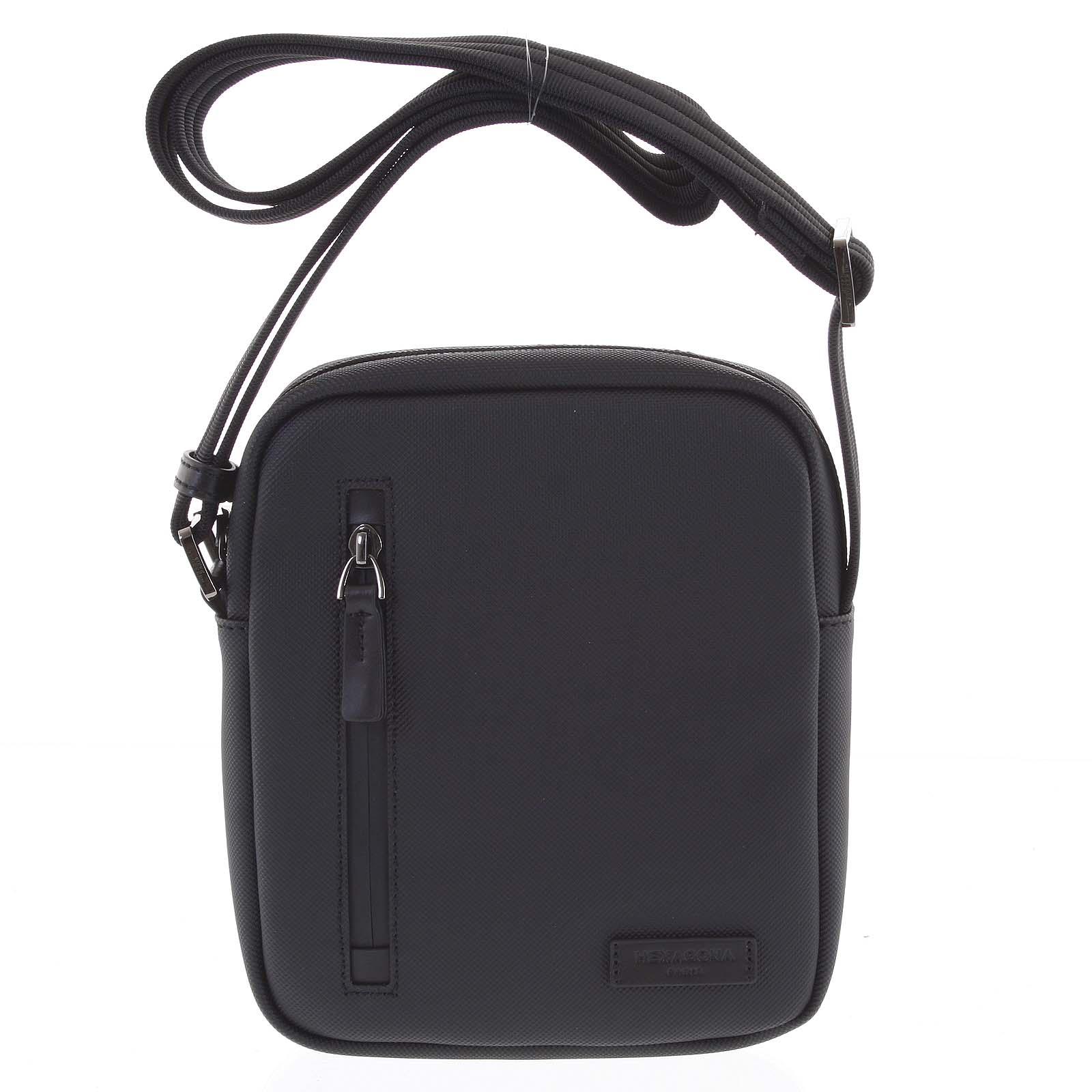 Pánska taška na doklady čierna - Hexagona Arzo