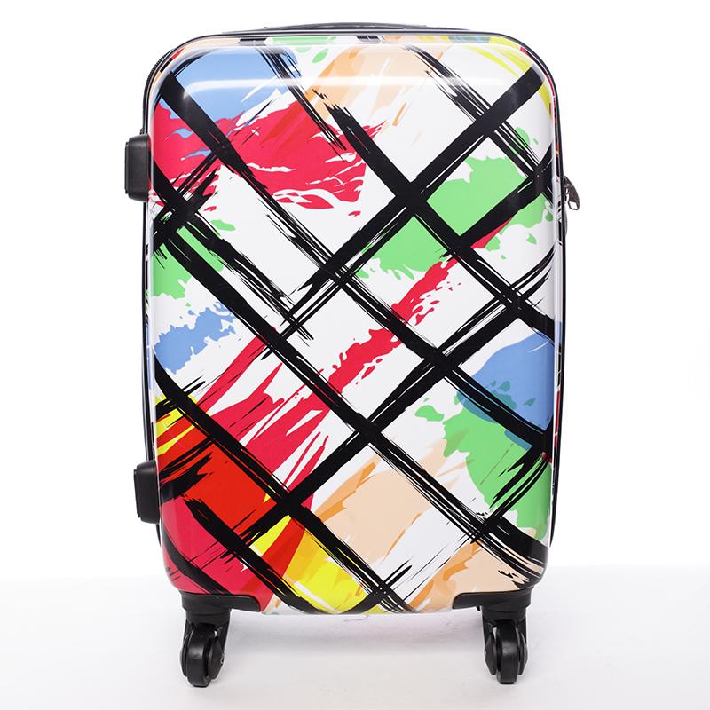 Cestovný kufor pevný farebný - David Jones California L