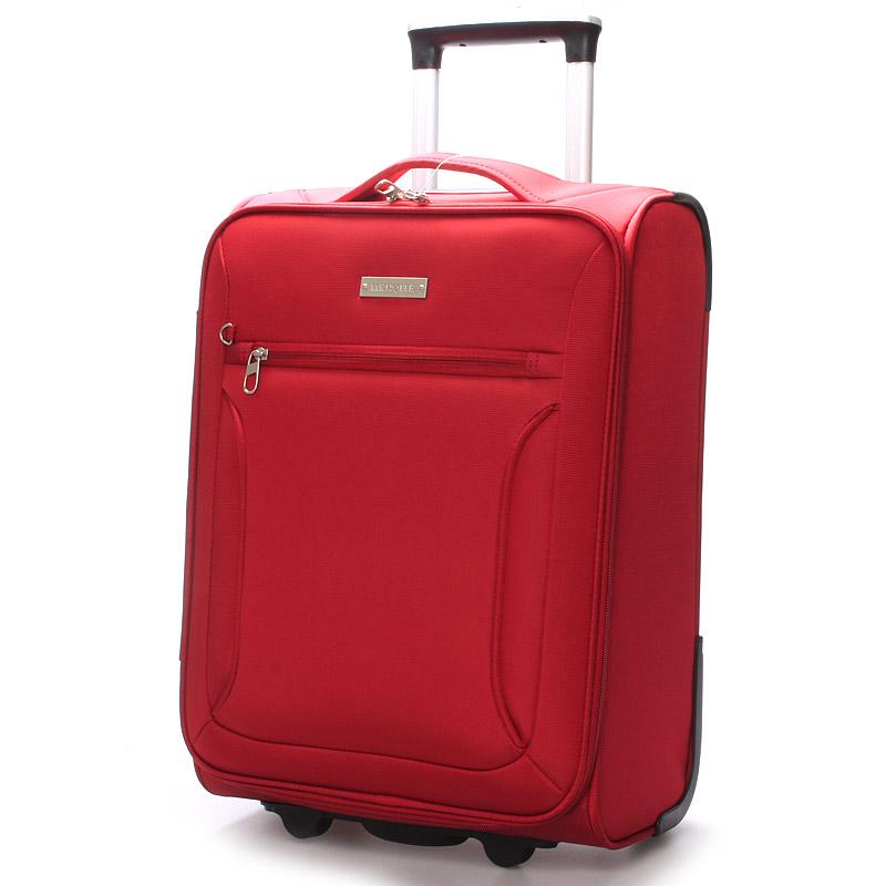Cestovný kufor červený - Menqite Missa L