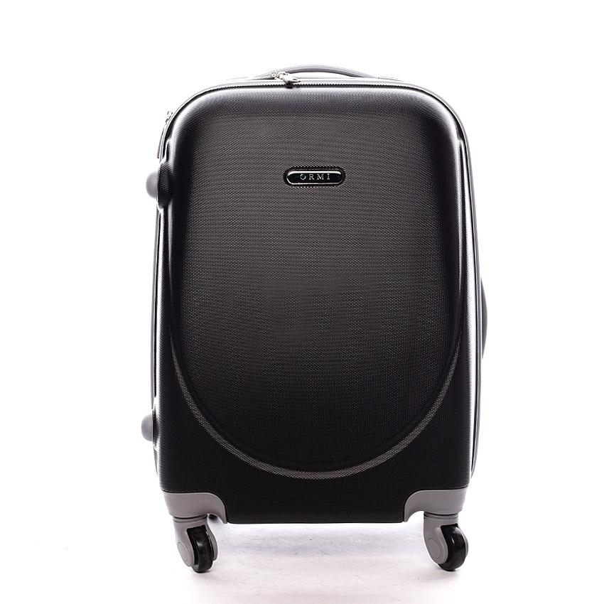 Pevný cestovný kufor čierny - Ormi Evenger S