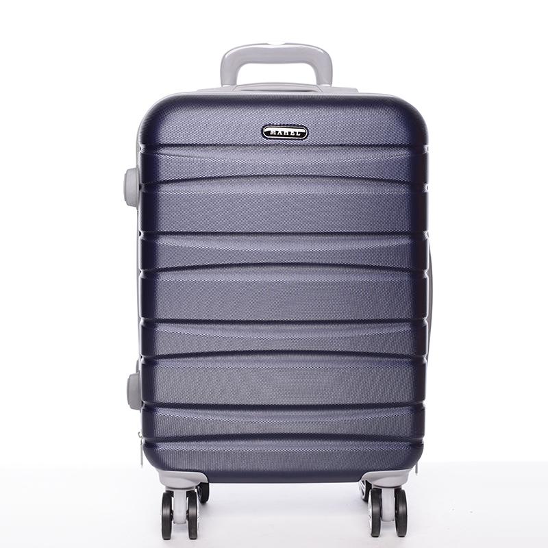 Cestovný pevný kufor tmavomodrý - Mahel Rayas S