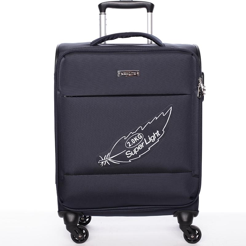 Odľahčený cestovný kufor tmavomodrý - Menqite Kisar L