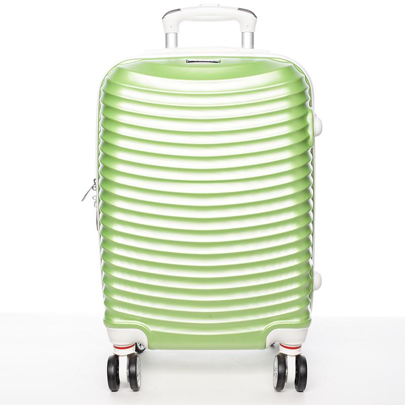 Zelený cestovný kufor pevný - Ormi Jellato L