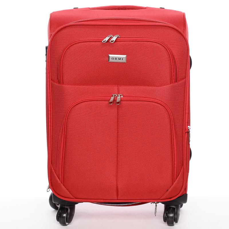 Cestovný kufor červený - Ormi Tessa S