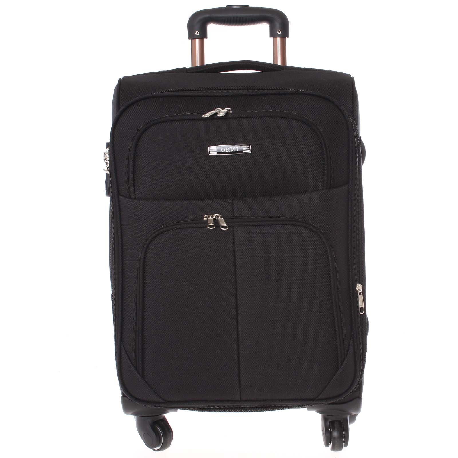 Cestovný kufor čierny - Ormi Tessa L