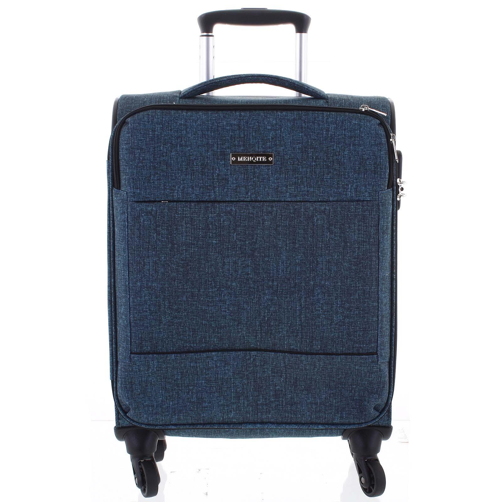 Odľahčený cestovný kufor zelený - Menqite Kisar M