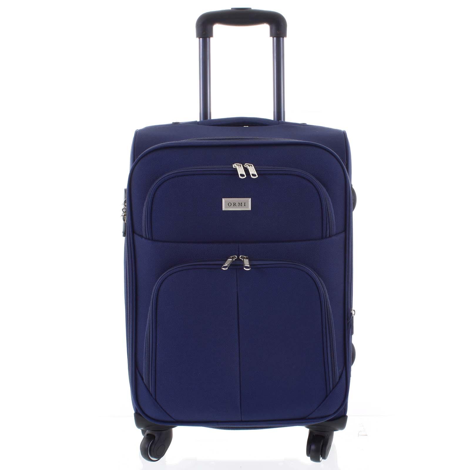 Cestovný kufor modrý - Ormi Tessa M
