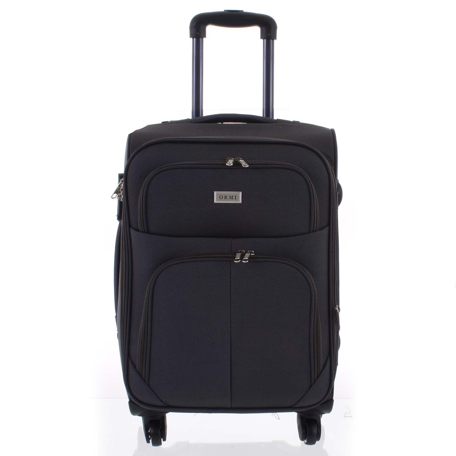 Cestovný kufor tmavosivý - Ormi Tessa S