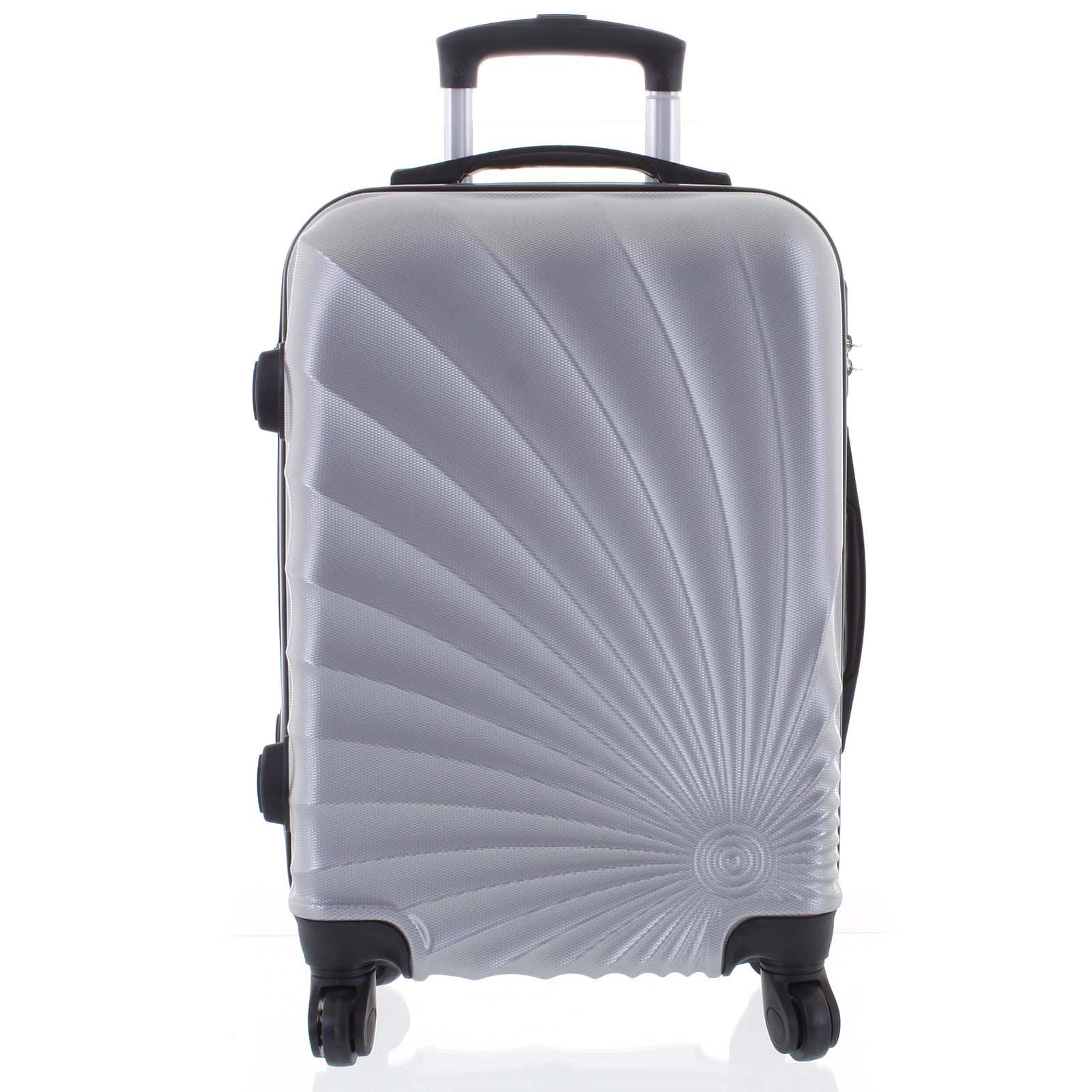 Originálny pevný cestovný kufor svetlostrieborný - Ormi Sheli M
