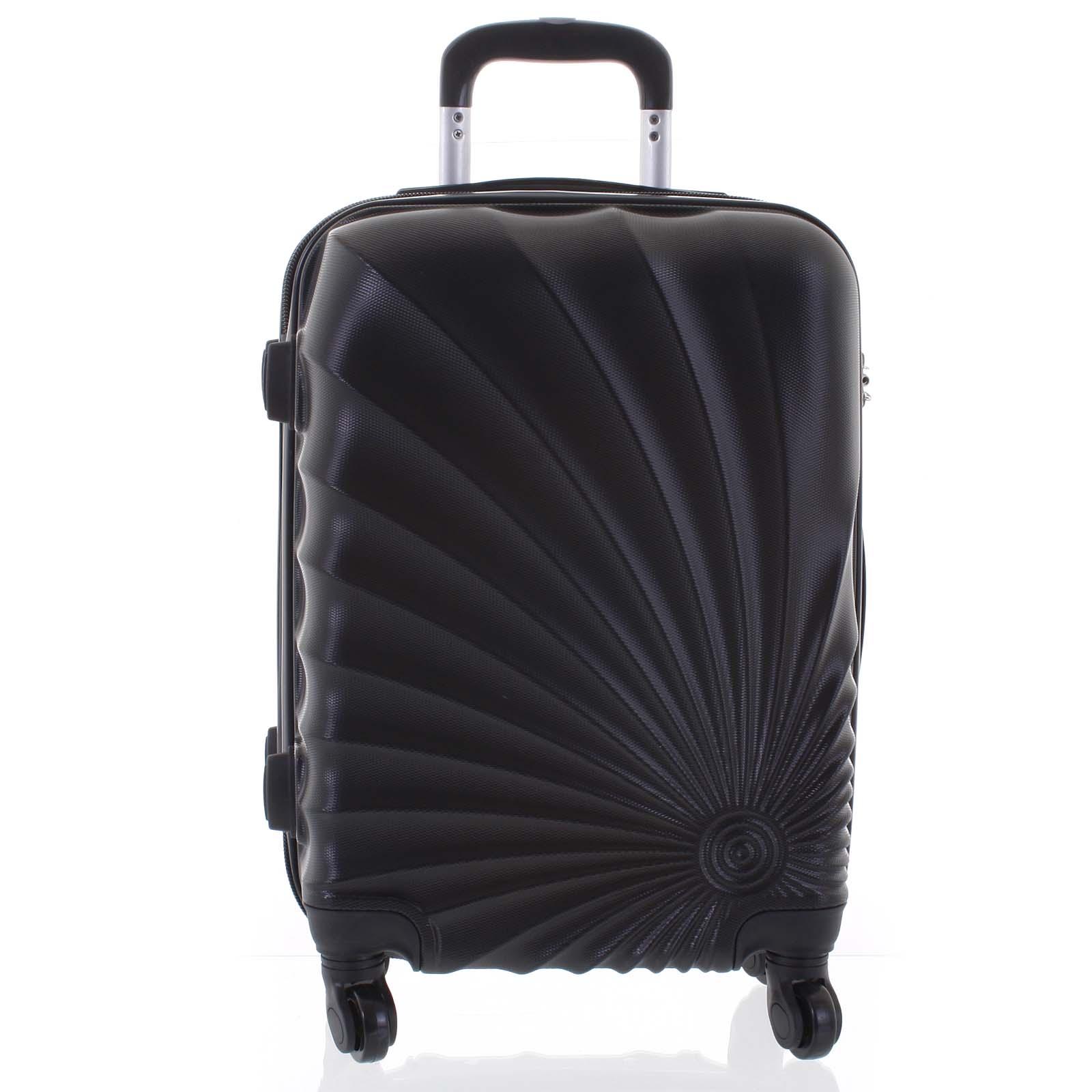 Originálny pevný cestovný kufor čierny - Ormi Sheli L