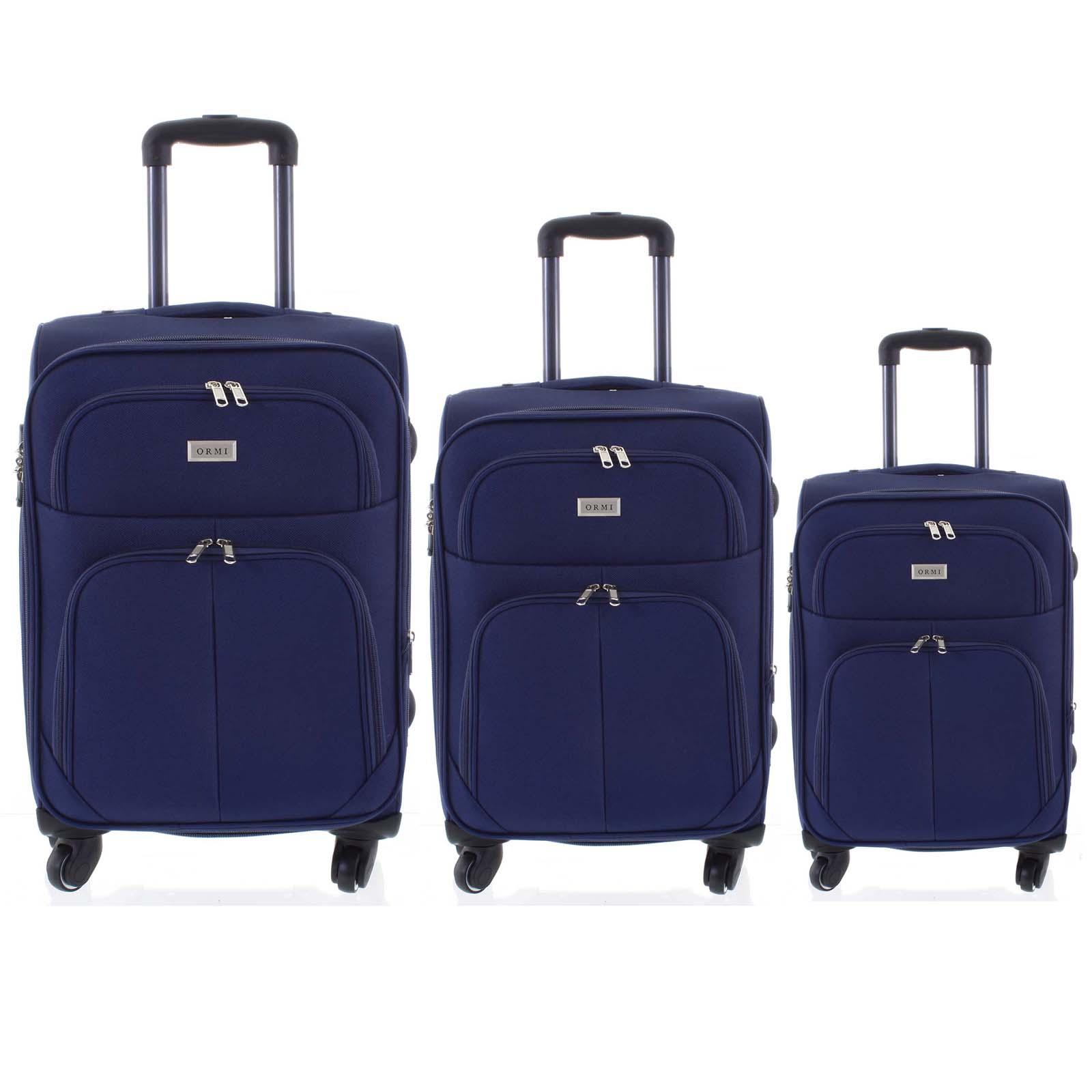 Cestovný kufor modrý sada - Ormi Tessa S, M, L