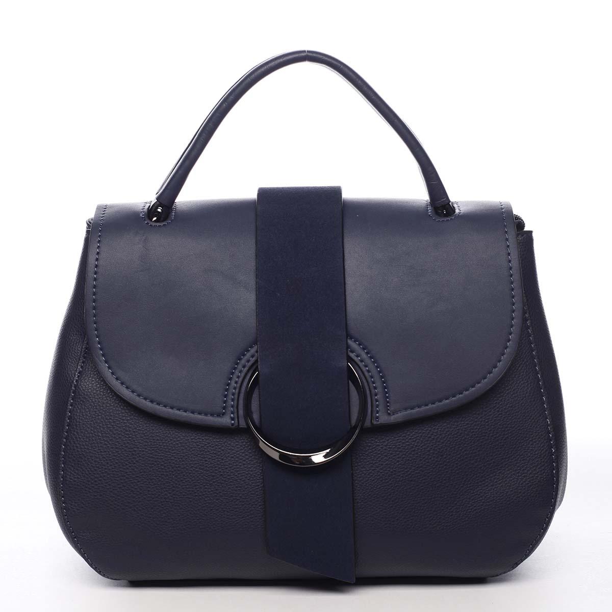 Jedinečná dámska kabelka do ruky modrá - Maria C Laurel