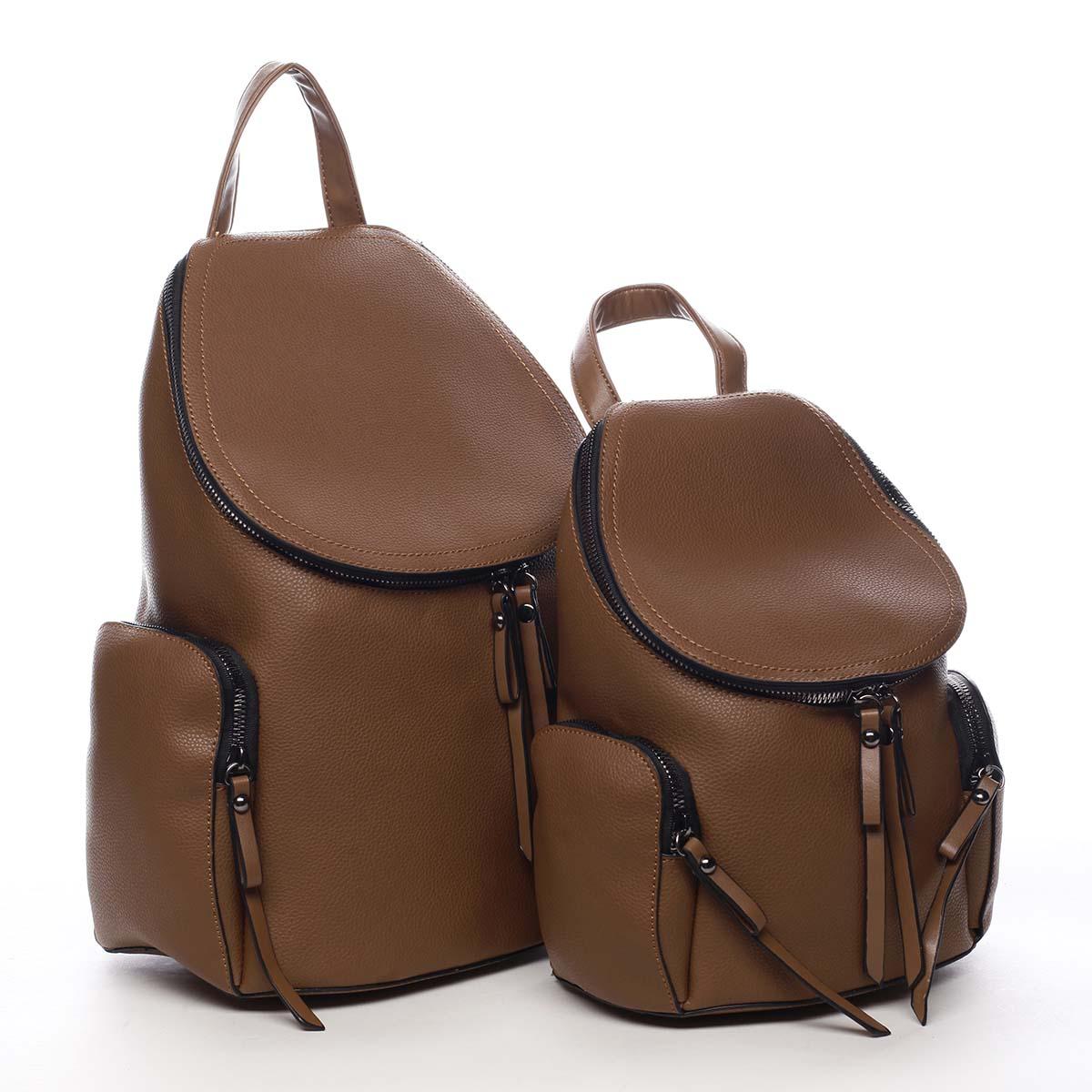 Dámsky batoh hnedý - Maria C Hips Dual