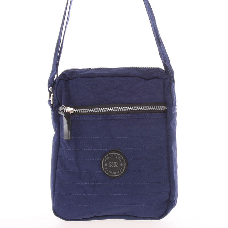Menšia športová taška na doklady modrá - New Rebels Callum