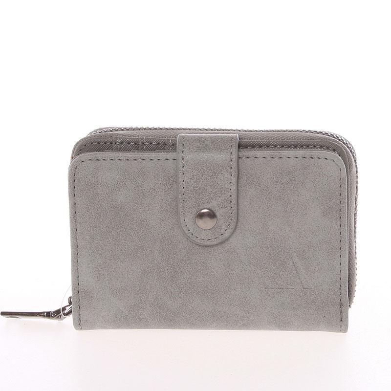 Dámska praktická sivá peňaženka - Just Dreamz Erin