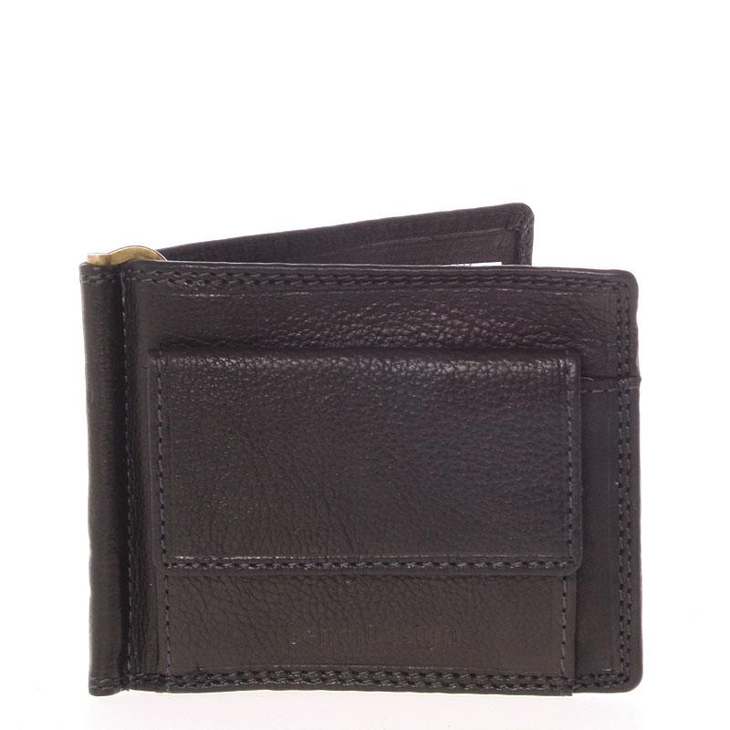 Pánska kožená dolarovka čierna - SendiDesign Ctex