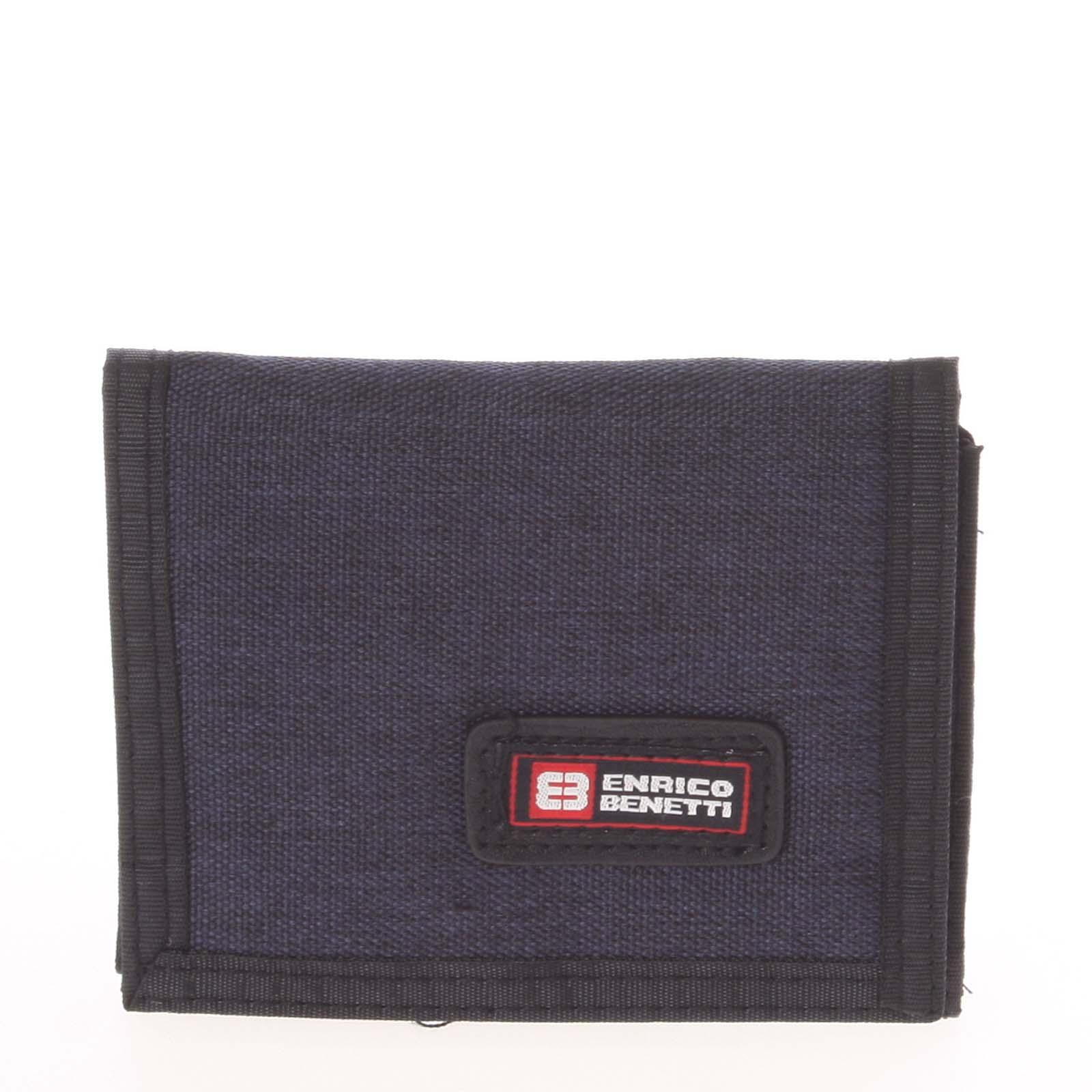 Peňaženka látková tmavomodrá - Enrico Benetti 4500